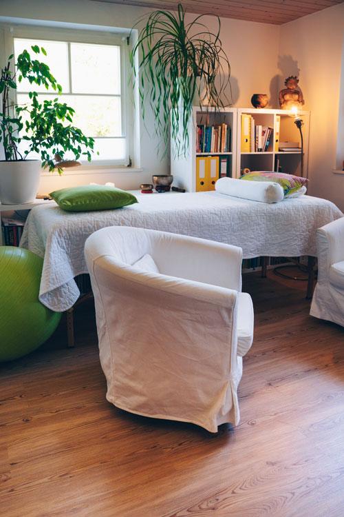 Seelenquelle Behandlungsraum